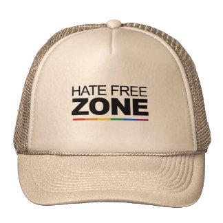 HATE FREE ZONE TRUCKER HATS