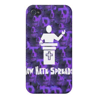 Hate From The Pulpit iPhone 4/4S Covers