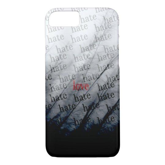 hate-love iphone/ipad case