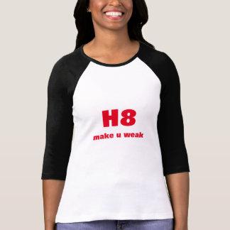 hate make u weak T-Shirt