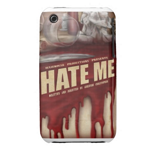 Hate Me iPhone 3 Cover