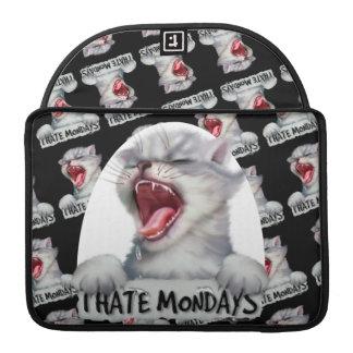 "HATE MONDAY 2 CAT Rickshaw Macbook PRO Sleeve 13 """