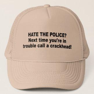 hate police? trucker hat