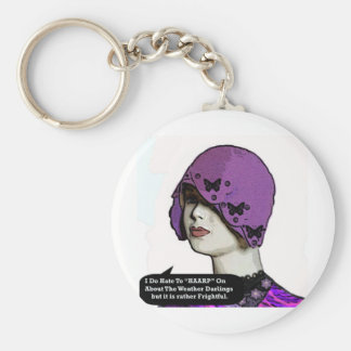 """""""Hate To """"HAARP"""" on about the weather""""* Key Ring"""