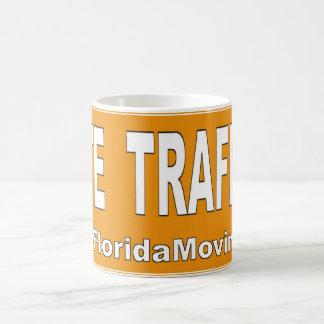 Hate Traffic Basic White Mug