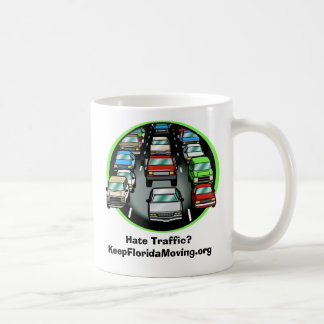 Hate Traffic? Basic White Mug