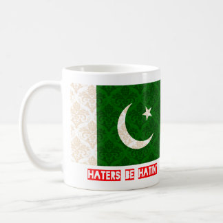 Haters be hatin Pakistan Coffee Mug