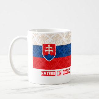 Haters be hatin Slovakia Coffee Mug