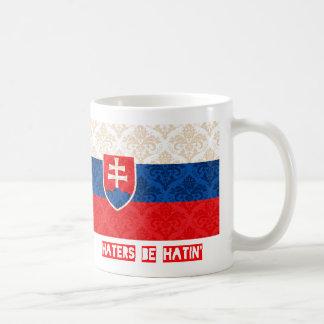 Haters be hatin Slovakia Coffee Mugs