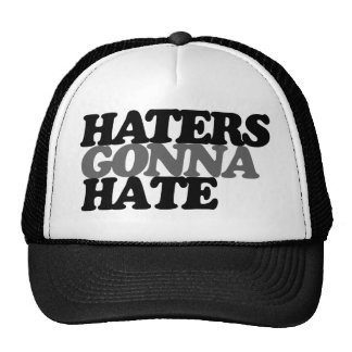 Haters gonna hate funny teen trend cap