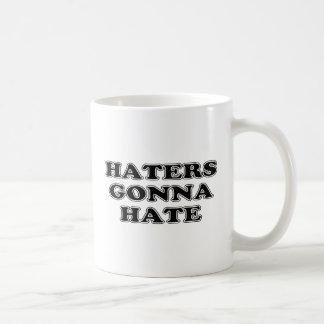 Haters Gonna Hate Basic White Mug