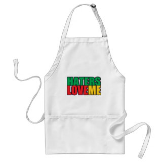 Haters Love Me Adult Apron