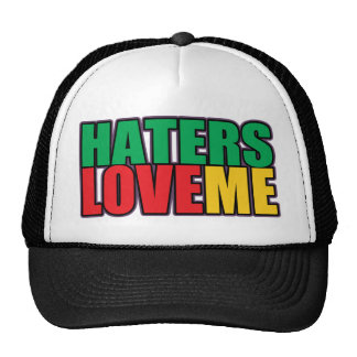 Haters Love Me Cap