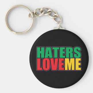 Haters Love Me Key Chain