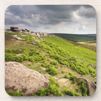 Hathersage Moor Derbyshire souvenir photo Coaster