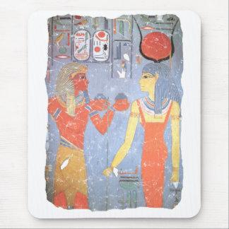 Hathor & Horemheb Mouse Mat