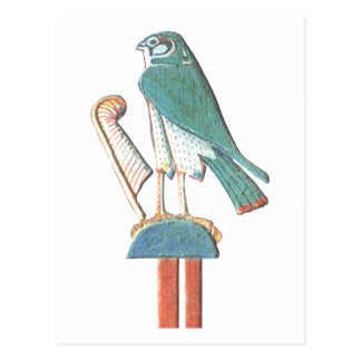 Hathor s headdress postcard