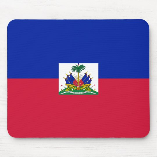Hatian Flag Mouse Mat