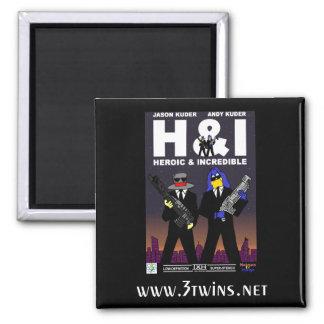 Hatman & Indigo Issue #14 Square Magnet