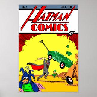 Hatman Parody Poster