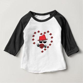HatMan Robbot Valantine Baby T-Shirt