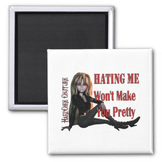Hatng Me Pretty 2 Refrigerator Magnet