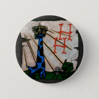 Hatrack Habitat 6 Cm Round Badge
