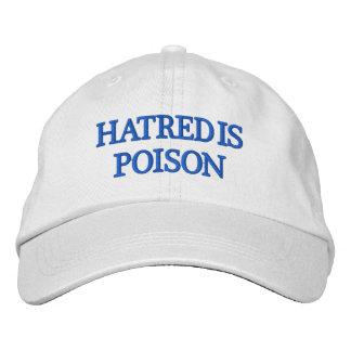 Hatred is Poison Blue-Letter Hat