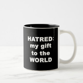 Hatred Two-Tone Coffee Mug
