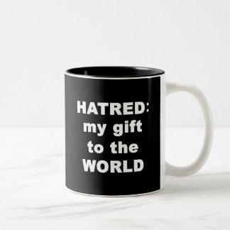 Hatred Two-Tone Mug