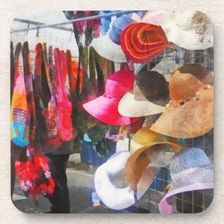 Hats and Purses at Street Fair Beverage Coaster