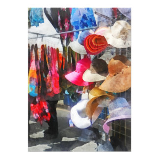 Hats and Purses at Street Fair Custom Invite