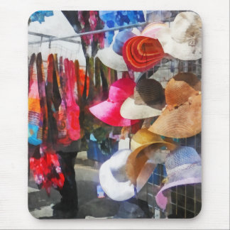 Hats and Purses at Street Fair Mouse Pads