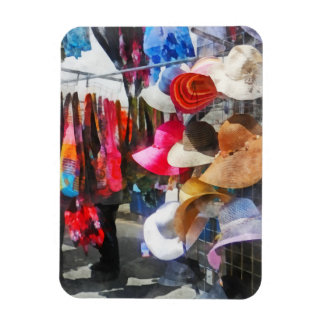 Hats and Purses at Street Fair Rectangular Magnet