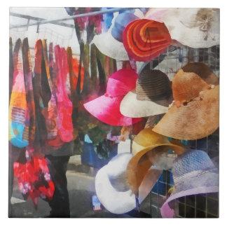 Hats and Purses at Street Fair Tiles