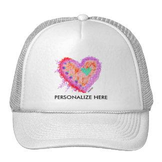 HATS, CAPS - Happy Heart Cap