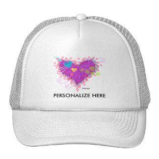 HATS, CAPS - HEARTS A FIRE! CAP