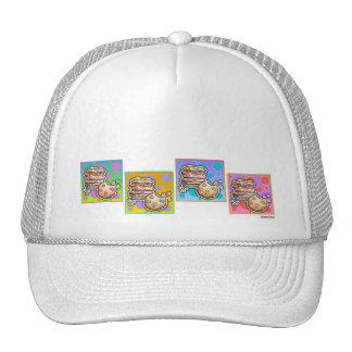 Hats, Caps - Pop Art Cookies Cap