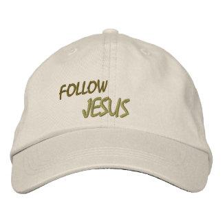 HATS CUSTOM  EMBROIDERED DESIGN JESUS BASEBALL CAP