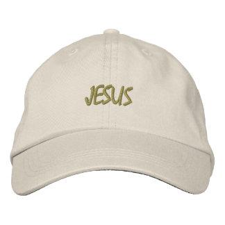 HATS CUSTOM  EMBROIDERED DESIGN JESUS EMBROIDERED BASEBALL CAP