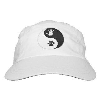 Hats: light-weight woven HandToPaw Yin-Yang Hat