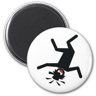 HATS, MUGS, ETC #1 6 CM ROUND MAGNET