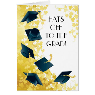 Hats Off to the Grad! Card