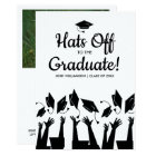 Hats off to the Graduate Graduation Party Photo Card
