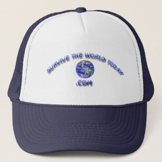 Hats With The Survivetheworldtoday.com Logo