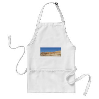 Hatshepsut Temple panoramic photograph Standard Apron