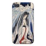 Hatsuhana under the Tonosawa waterfall, Kuniyoshi Covers For iPhone 4