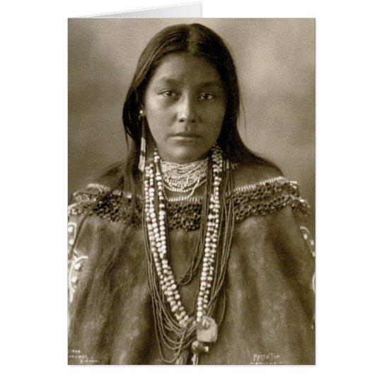 Hattie Tom, Chiricahua Apache Card