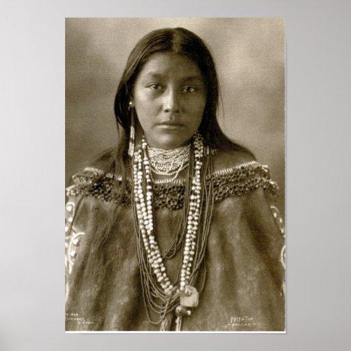 Hattie Tom, Chiricahua Apache Posters
