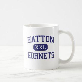 Hatton - Hornets - High - Town Creek Alabama Basic White Mug